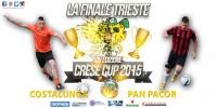 COSTALUNGA VS PAN PACOR E' LA FINALE CRESE CUP TRIESTE!